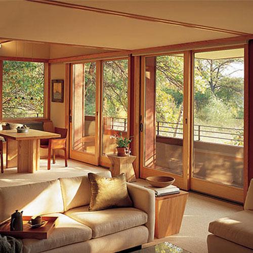 Стильные и долговечные окна из дуба